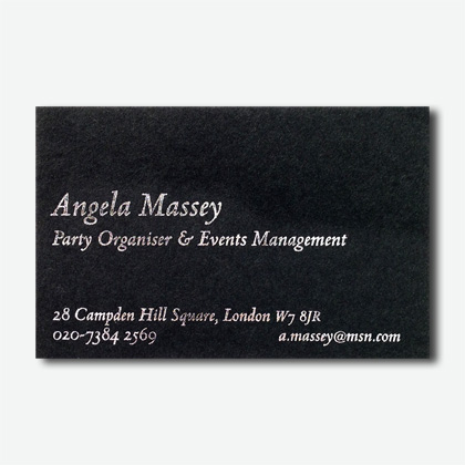 Business cards the letter press style 25h prices from 18100 for 200 reheart Choice Image