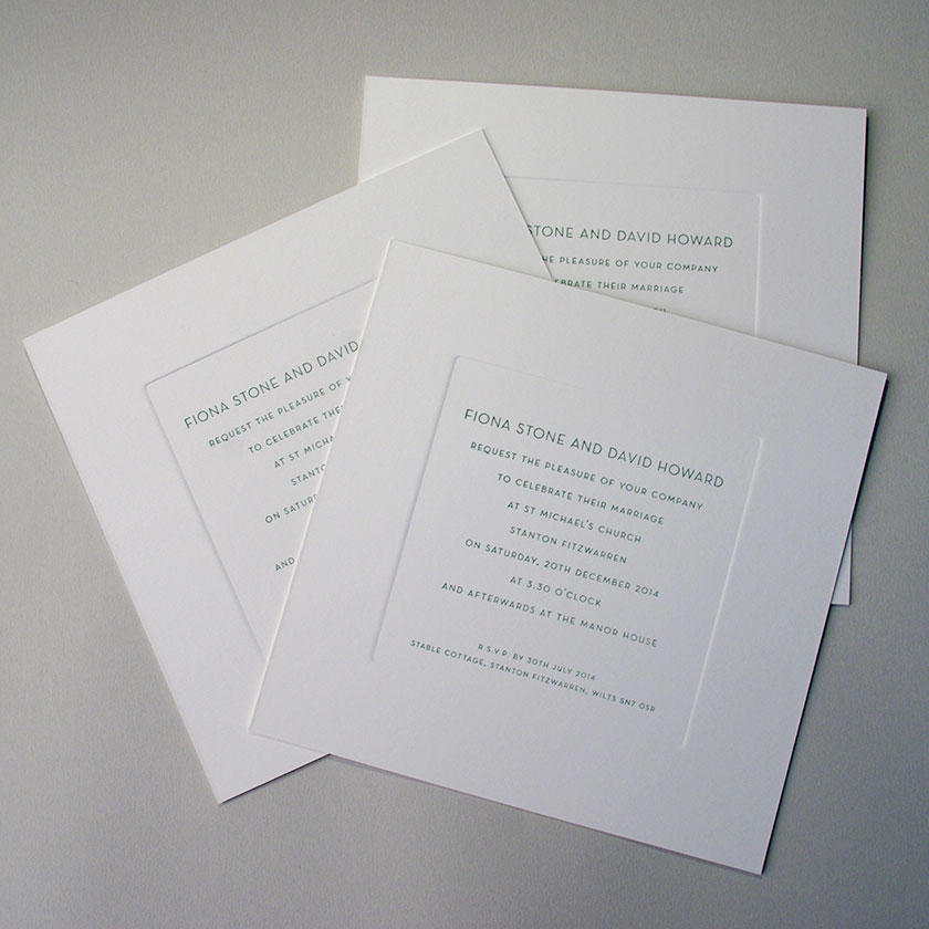 Wedding Invitation Prices From GBP16600 For 30