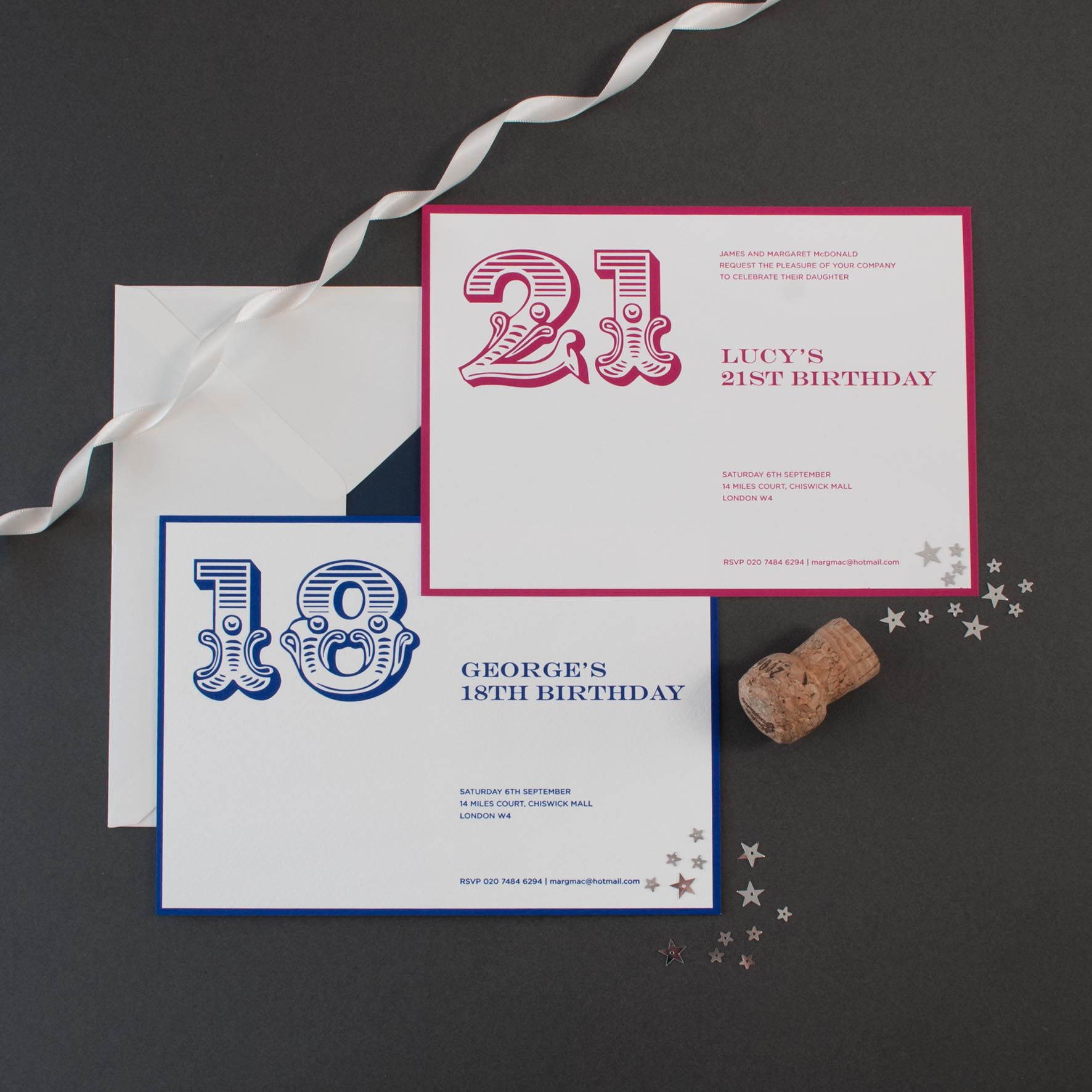 Birthday Invitations | The Letter Press