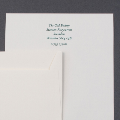 Personalised writing paper stationery