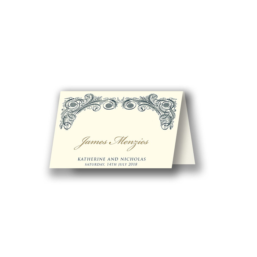 place card size