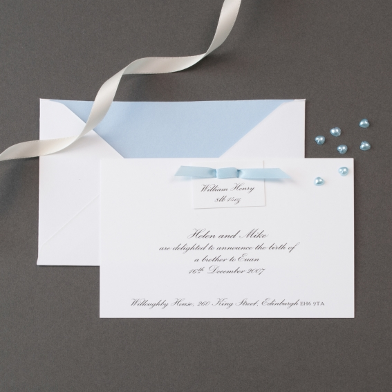 Luxury Birth Announcements Cards – Birth Announcements Uk