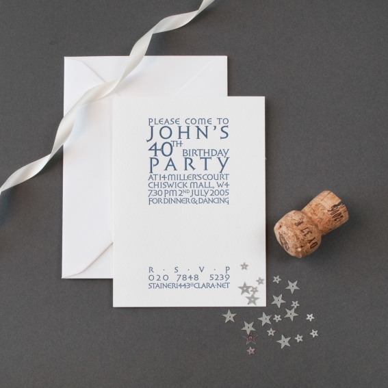 Luxury Party Invitations