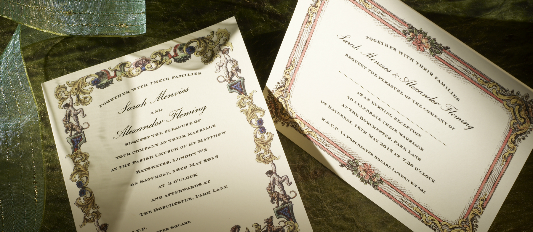 Richmond Personalised Wedding Invitations | The Letter Press