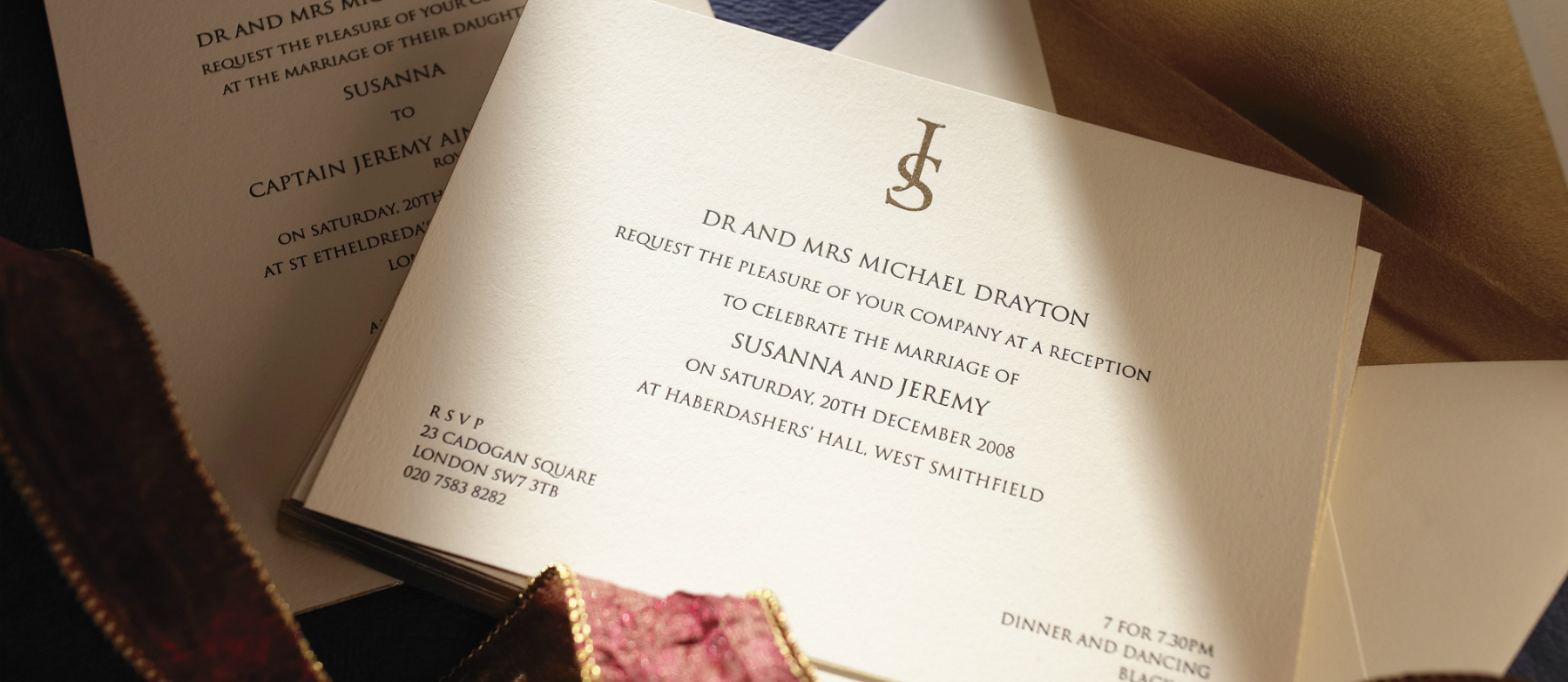insignia luxury wedding stationery - Luxury Wedding Invitations