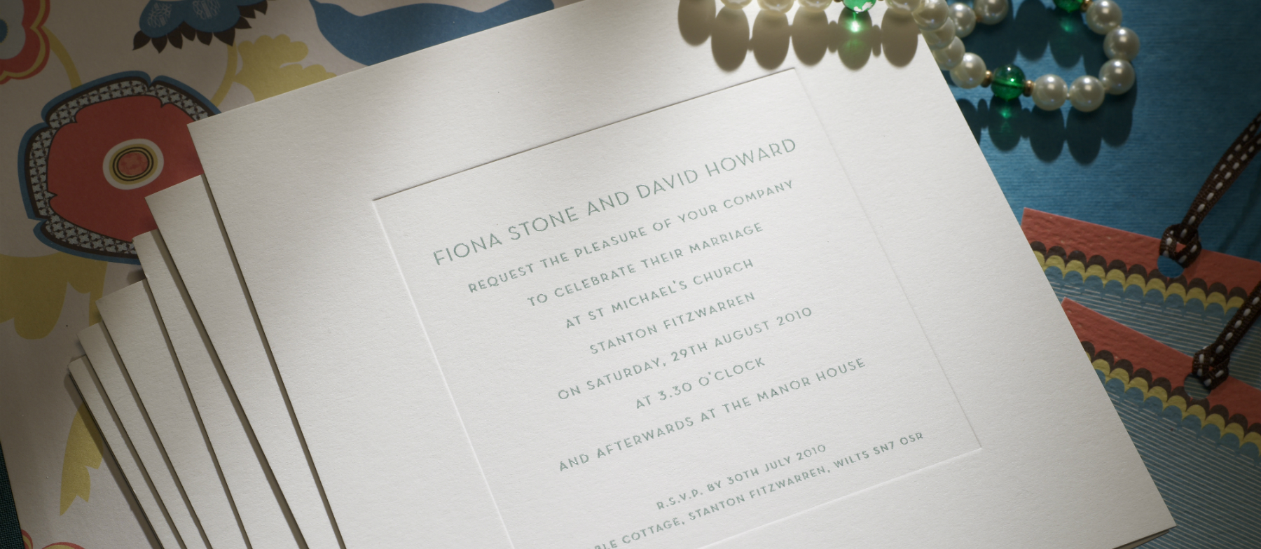 New Bond Street Personalised Wedding Invitations The Letter Press