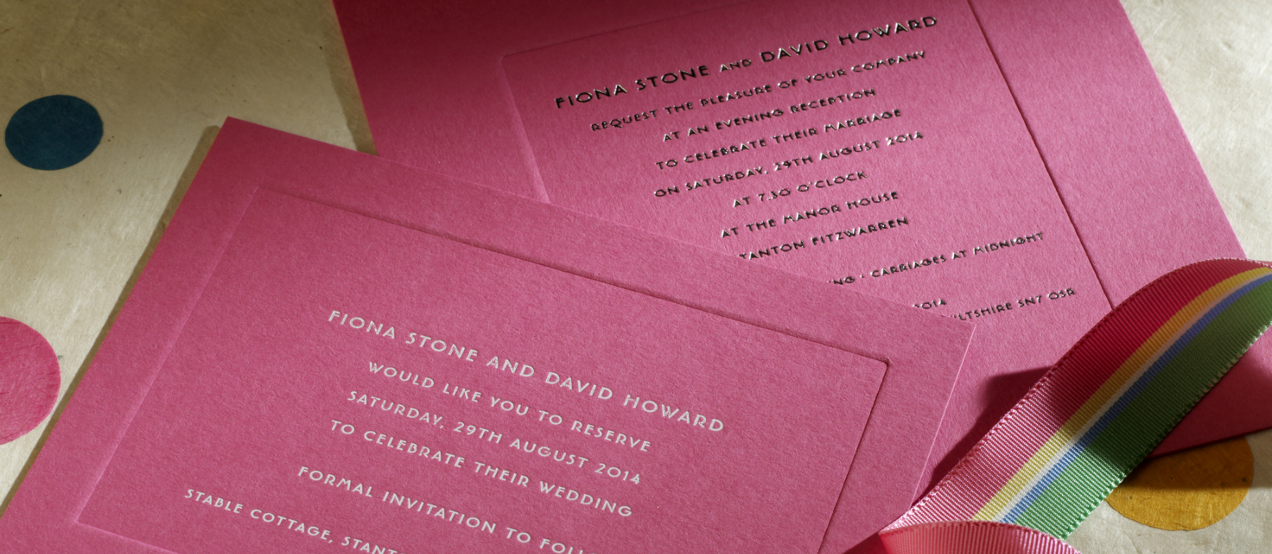 old bond street luxury wedding stationery