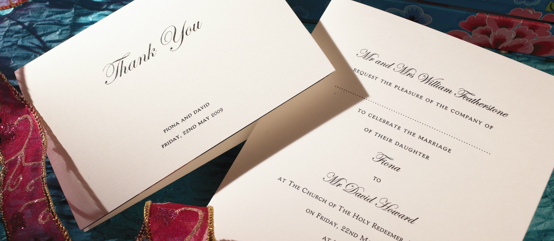 Wedding Invitations England: Regency Personalised Wedding Invitations
