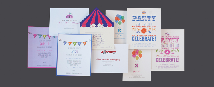 Children's Party Invitations