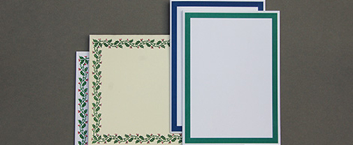 Border Christmas Cards