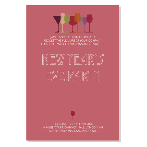 heres some wonderful christmas party invitations all of them can be personalised to suit your needs whether that be a boxing day lunch new years eve