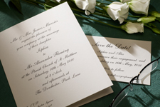 buy luxury wedding stationery