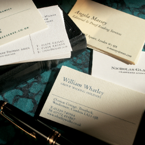 Luxury personalised stationery in the uk the letter press luxurious personalised business cards colourmoves