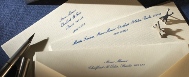 Luxury Personalised Stationery in the UK | The Letter Press