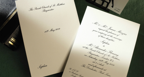 Luxury Personalised Wedding Invitations in UK – Classic Wedding Invitations