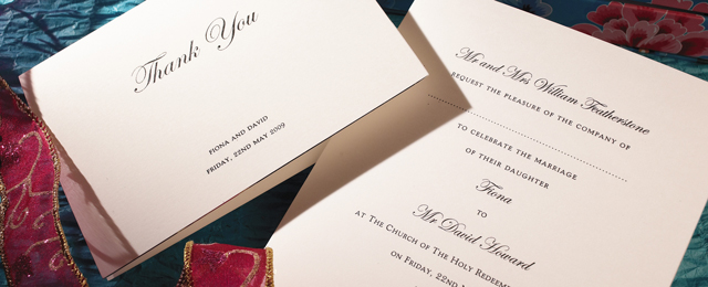 Luxury Personalised Wedding Invitations In Uk The Letter Press