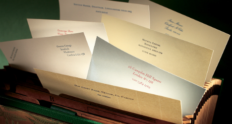 Luxury Personalised Stationery In The UK